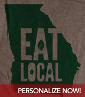 Eat Local Organic T-Shirt