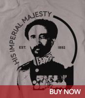 H.I.M. Est. 1892 Haile Selassie - Rasta T-Shirt