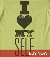 I Love Myself - Organic T-Shirt