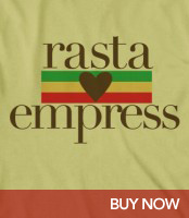 Rasta Loves Empress Organic T-Shirt